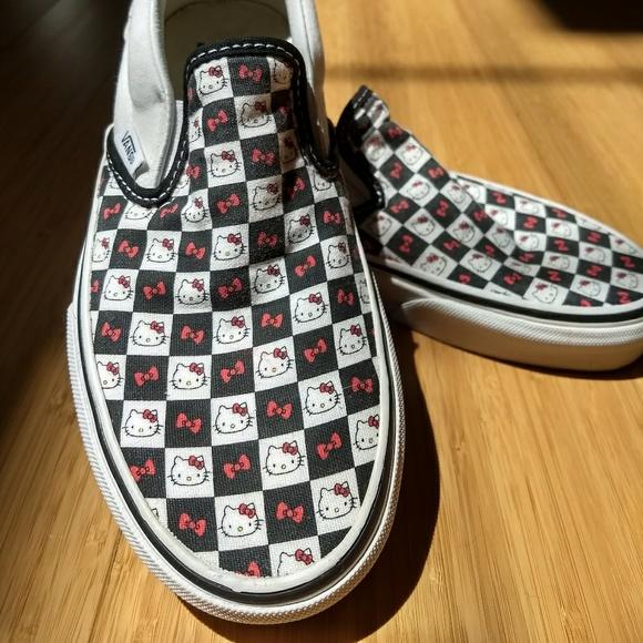Get - hello kitty checkered vans - OFF